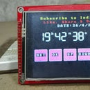 How to Make Realtime Clock Using Arduino and TFT Display|Arduino Mega RTC With 3.5 Inch TFT  Display