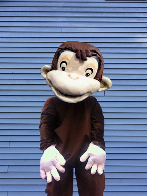 Picture of Curious George Costume