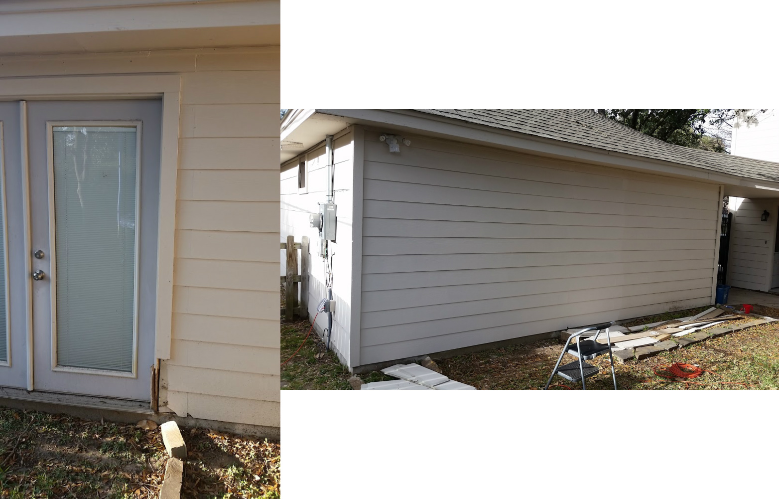 Picture of Bye Bye French Doors