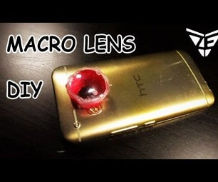 DIY MACRO LENS USING RECYCLED BOTTLE