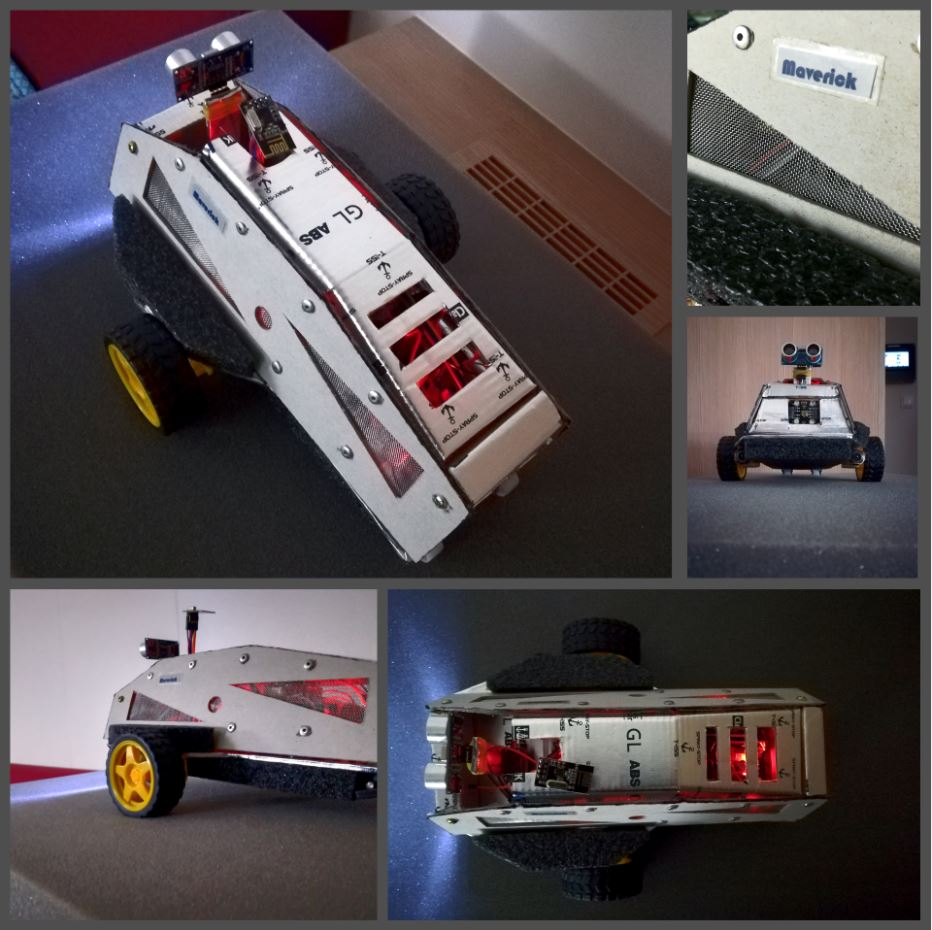 Picture of Maverick - Remote Controlled Bidirectional Communication Car