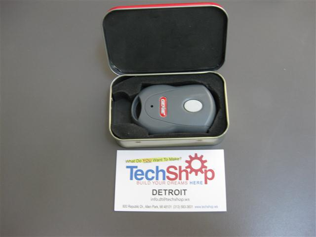 Picture of Hush-hush Garage Opener in a Tin