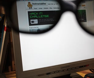Privacy Monitor Hacked From an Old LCD Monitor