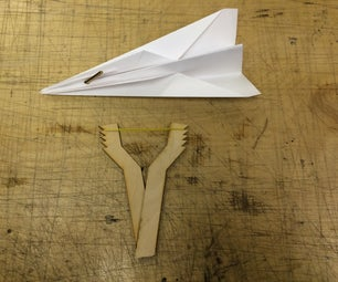 How to Make a Paper Airplane Slingshot