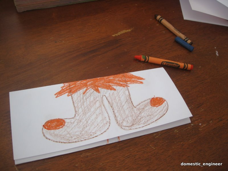 Picture of Draw the Feet