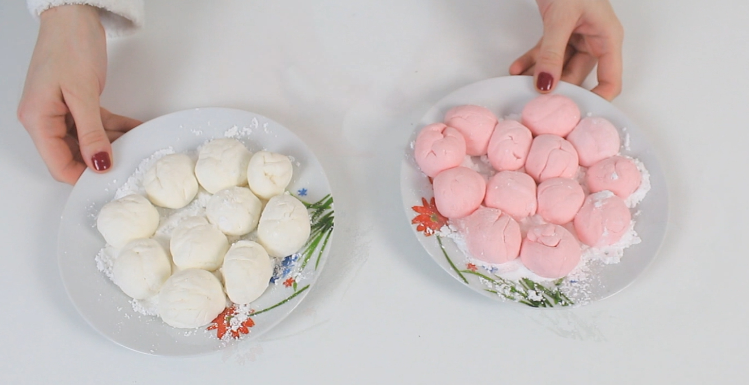 Picture of Dough It Is Very Sweet and Delicious, Dough From Marshmallows, You Can Really Make Any Shapes That You Want!!!