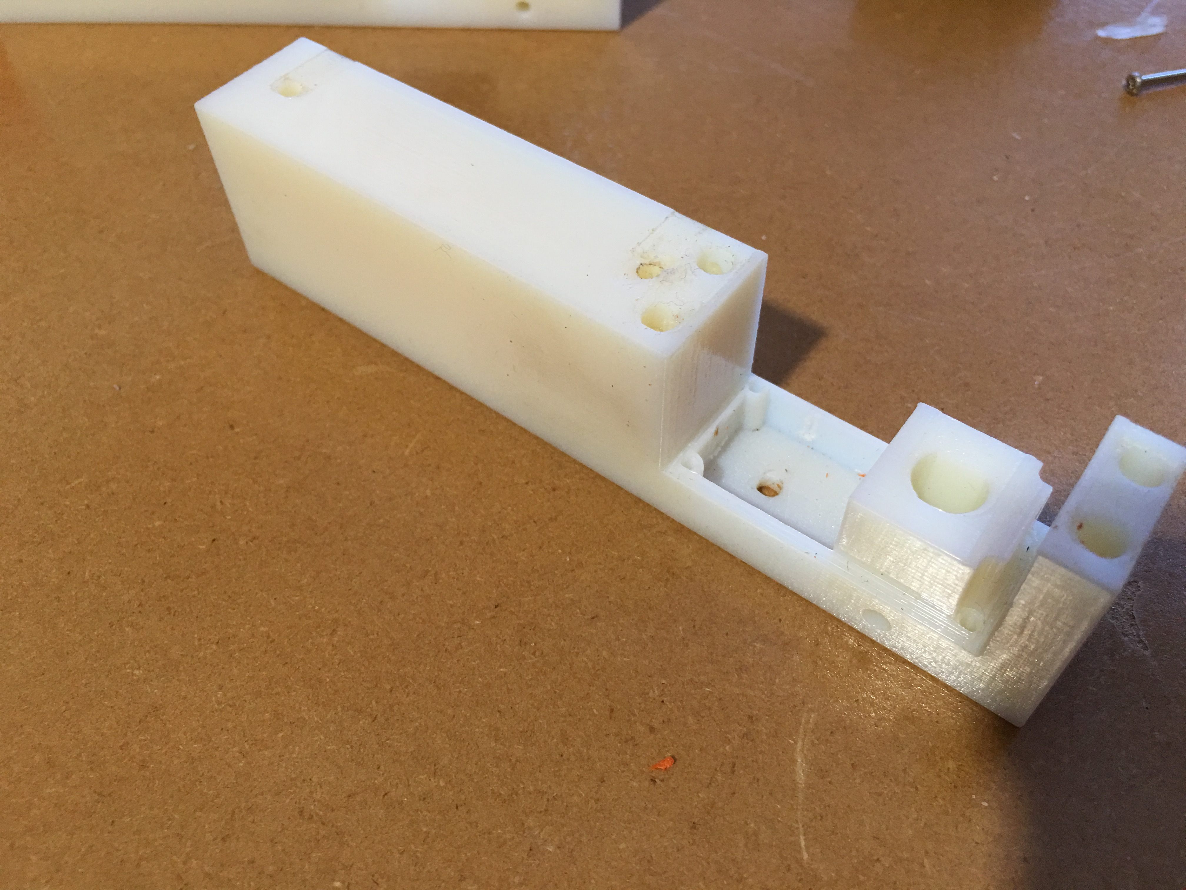Picture of 3D Printing the Tread Holder (use PLA Not ABS)
