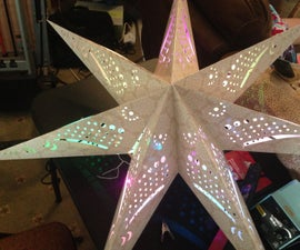 IKEA Star with ATtiny and NeoPixels