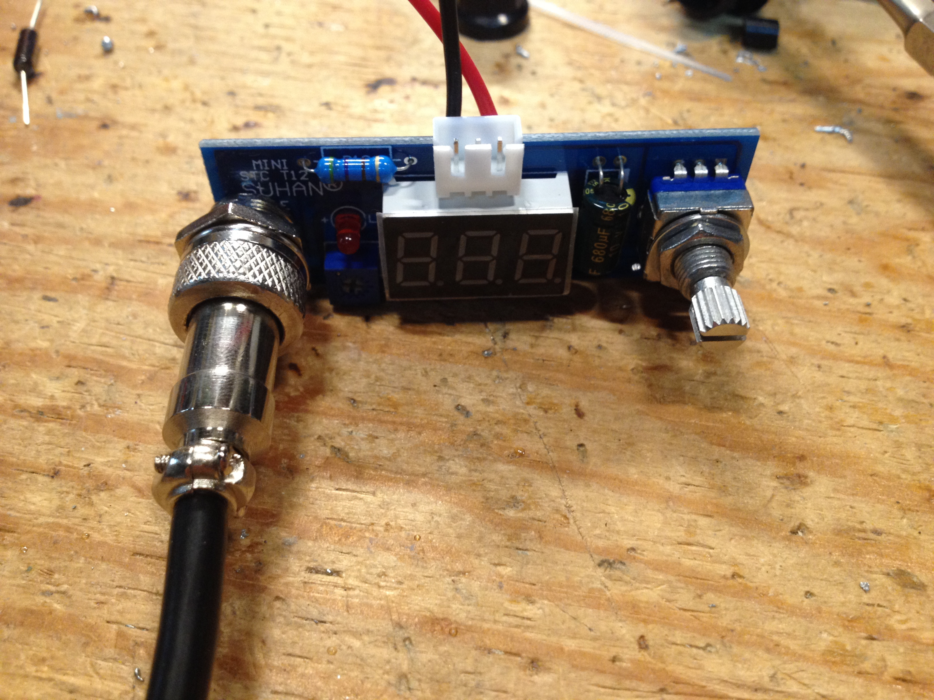 Picture of Powering the Soldering Iron