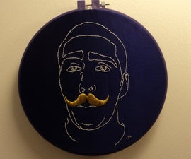 Turn a Photo into an embroidery