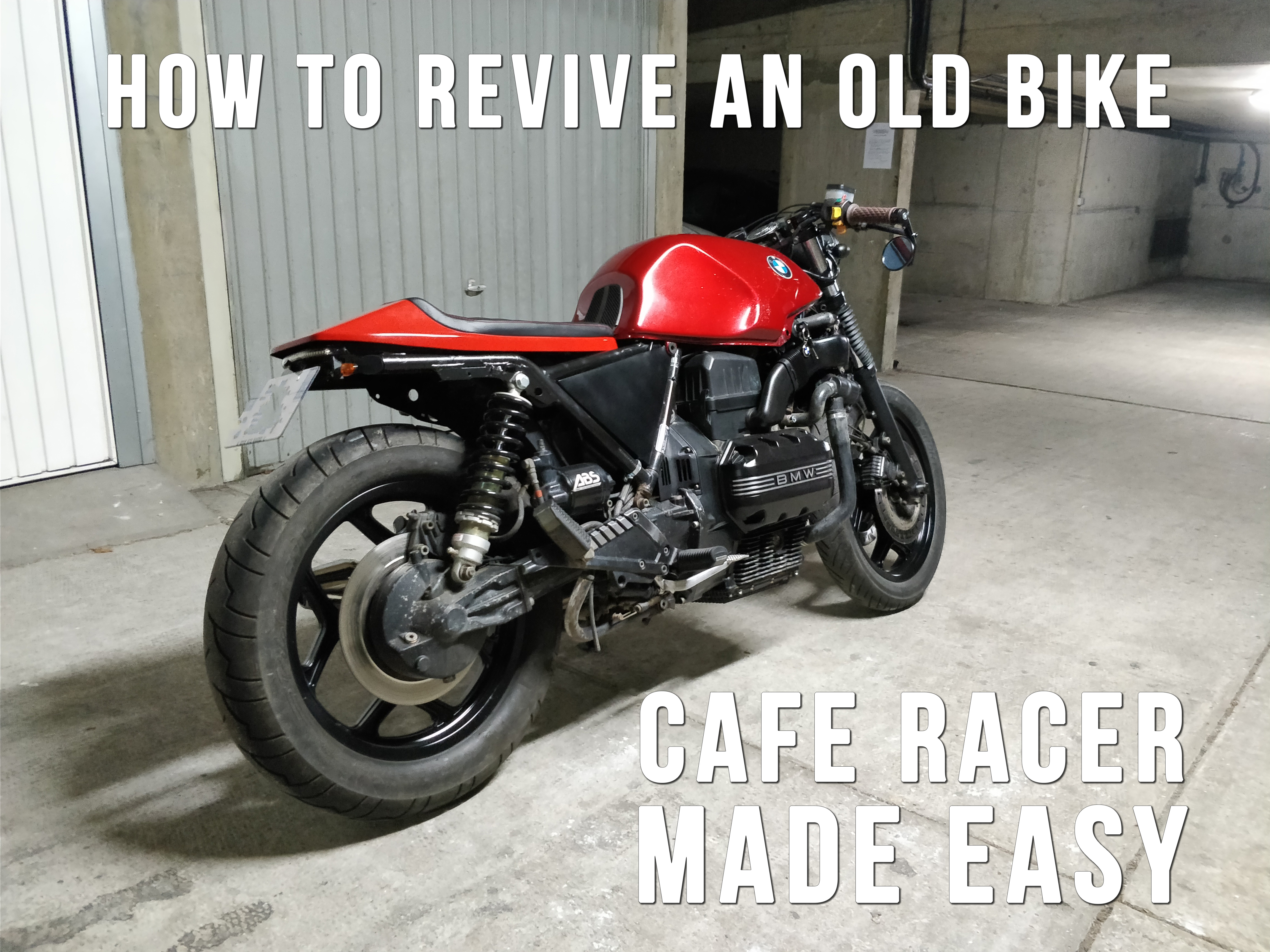 Picture of Give a New Life to an Old Motorcycle! How to Build a Cafe Racer