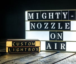 Retro Lightbox (Customizable)