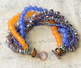 How to Make a Multiple Stranded Ethnic Beaded Bracelet for Summer