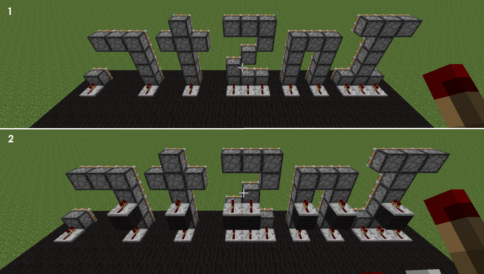 Picture of Placing Redstone Repeaters