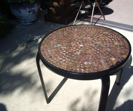 This Table Cost Pennies....literally
