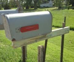Rural Mailbox Posts
