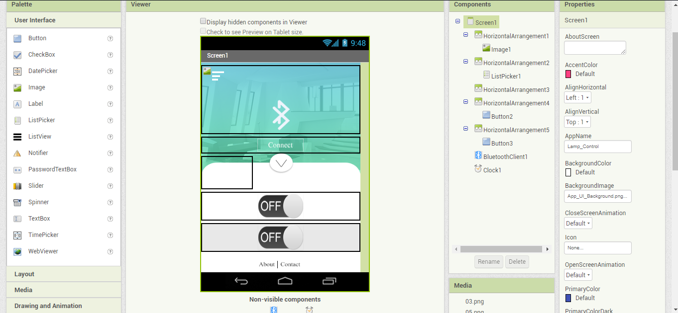 Picture of The App :