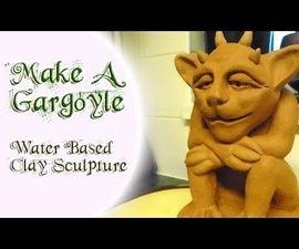 Make & Sculpt A Gargoyle - Water Based Clay Sculpture