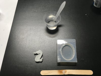 Sizing the Wax and Casting Resin