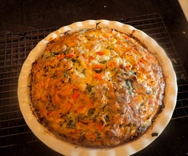 Easy Peasy Magic Crust Quiche