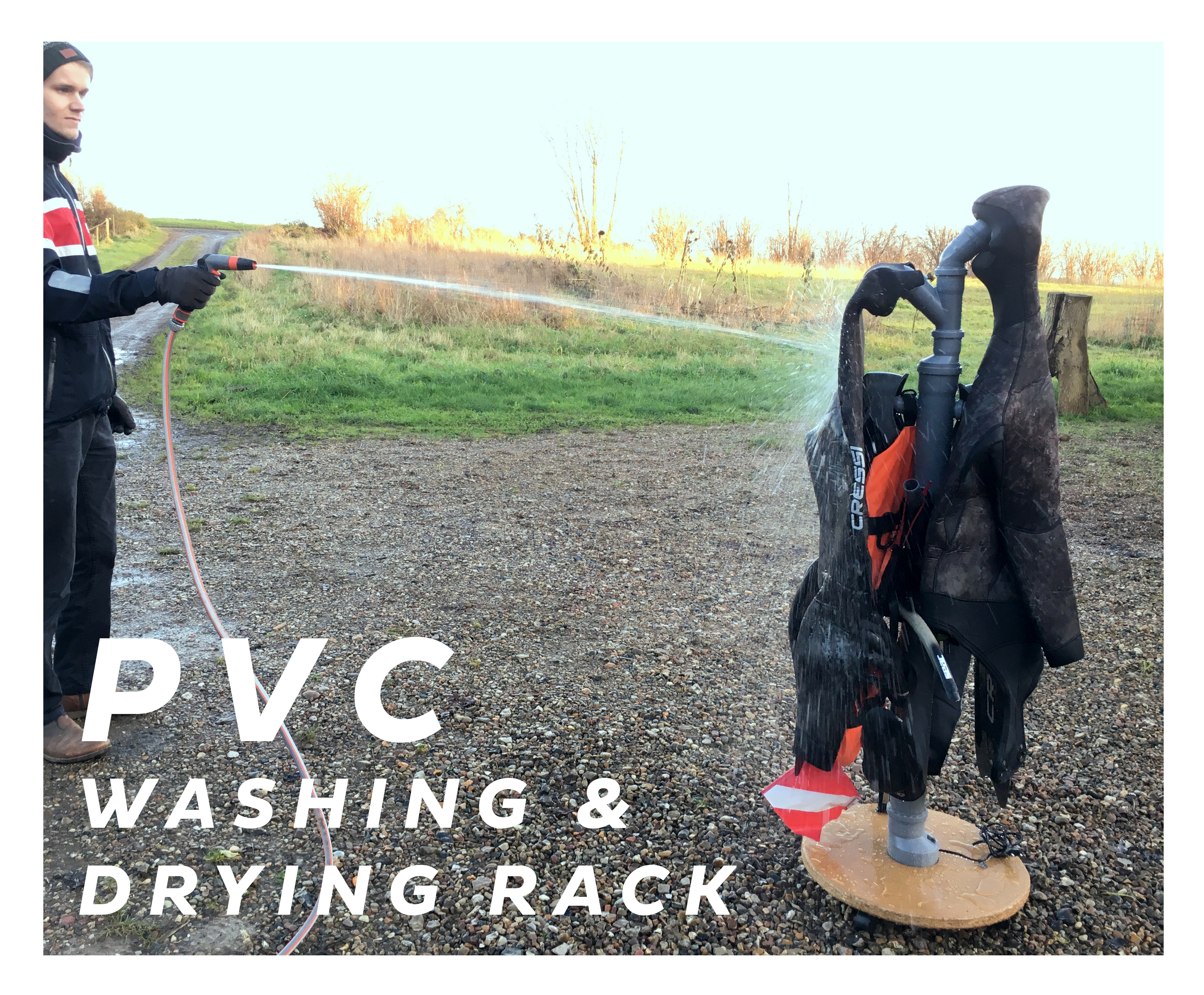 Picture of PVC Washing & Drying Rack