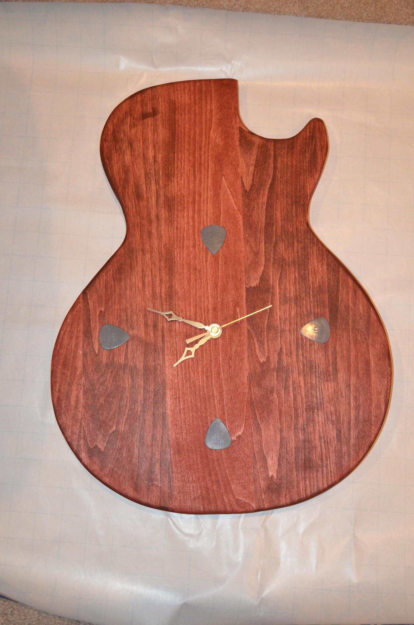 Picture of Les Paul Guitar Clock