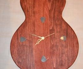 Les Paul Guitar Clock