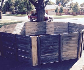 Portable Gaga Pit From Repurposed Fence