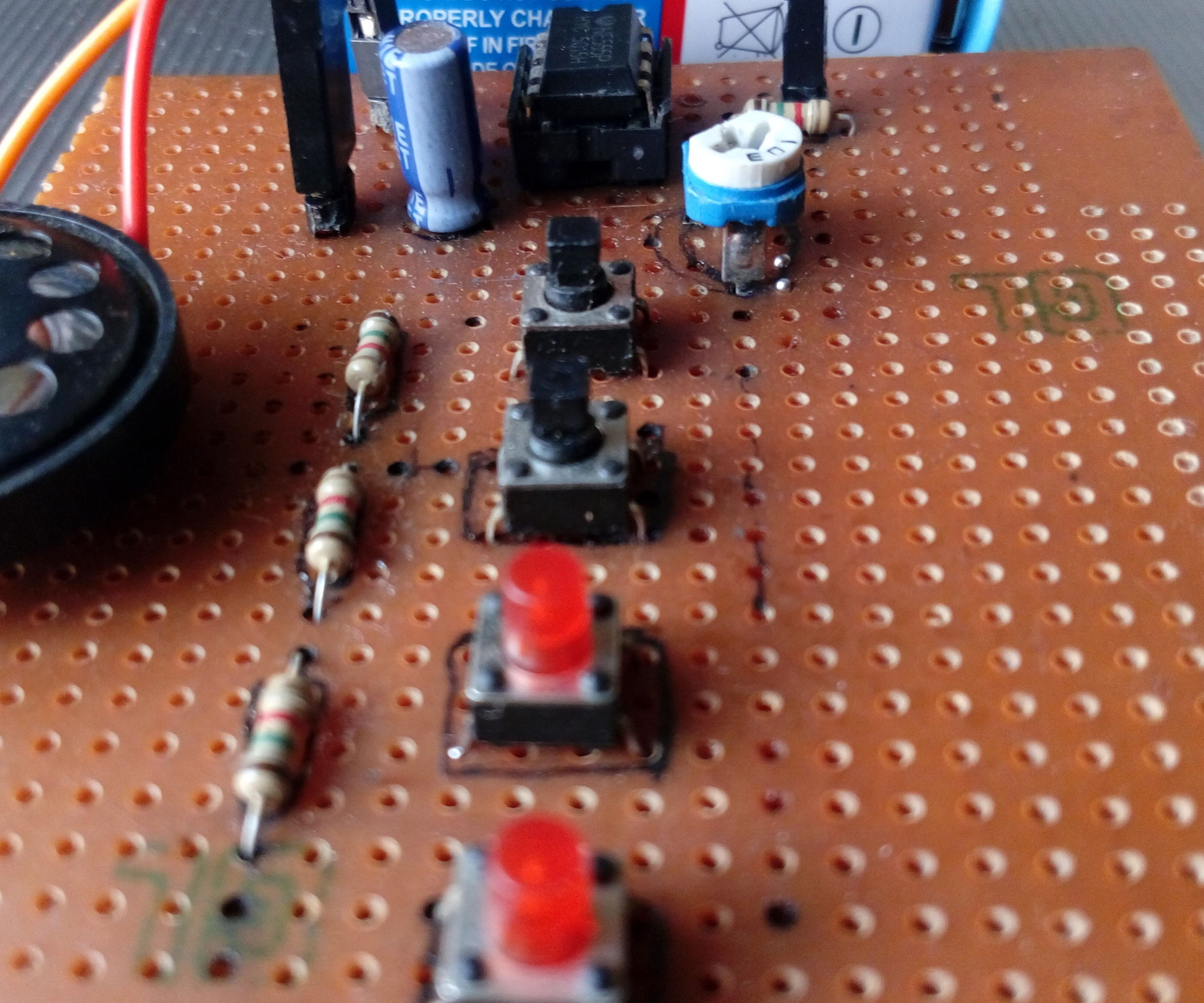 Piano Using 555 Timer 4 Steps With Pictures Operation Of Astable Multivibrator Mode Ic