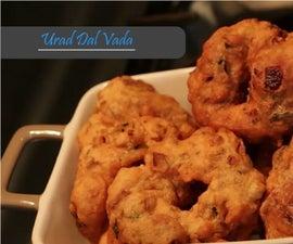 Urad Dal / Black Gram Medu Vada Recipe - Who's Hungry