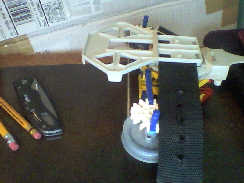 Picture of My Arm Mounted Knex Crossbow