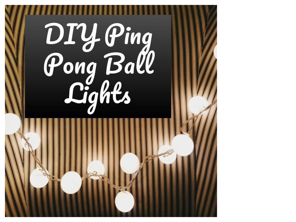 Picture of DIY Ping Pong Ball Lights