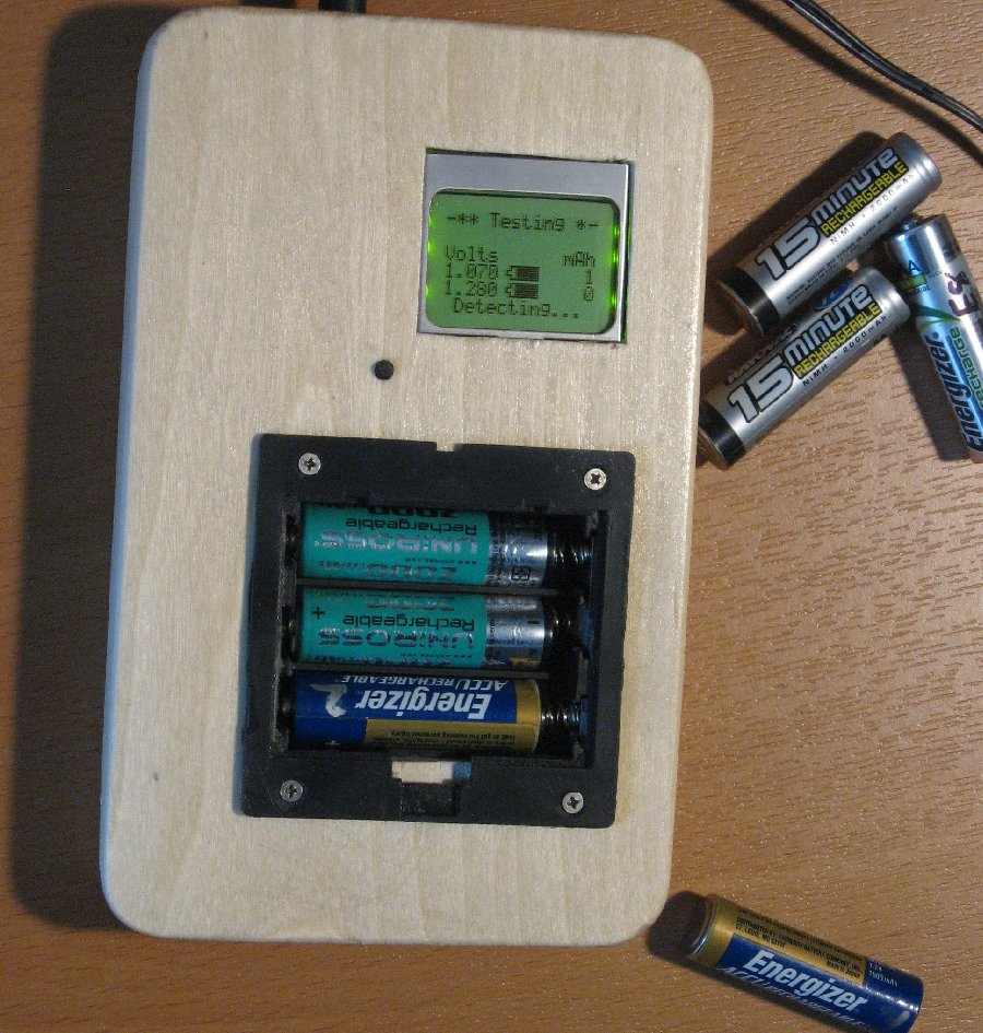 Picture of Rechargeable Battery Capacity Tester