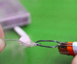 World's simplest soldering iron
