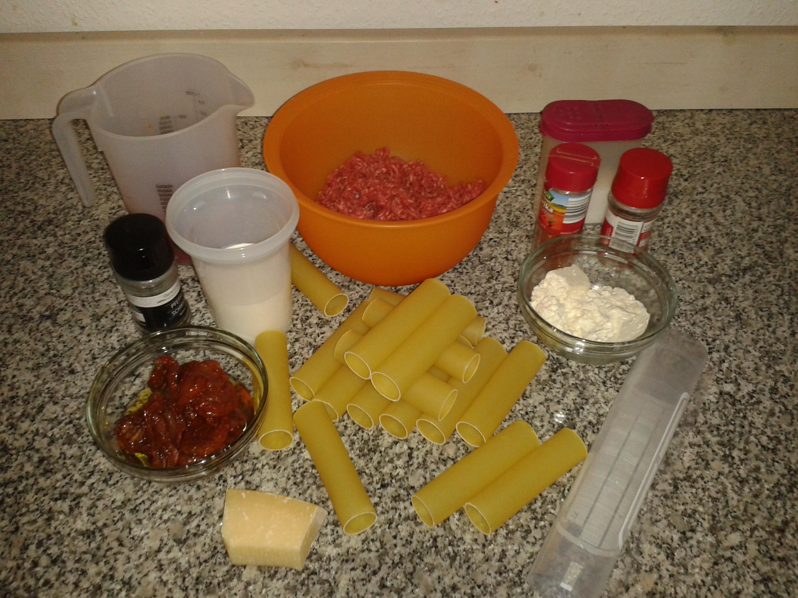 Picture of Meat,Parmesan & Feta Stuffed Cannelloni Recipe