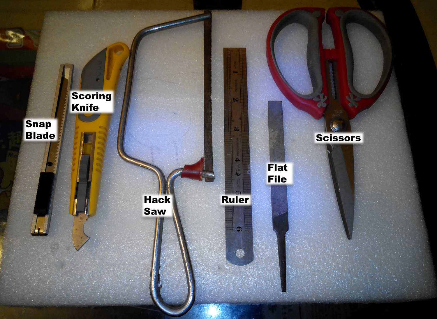 Picture of Step 2: Tools & Materials
