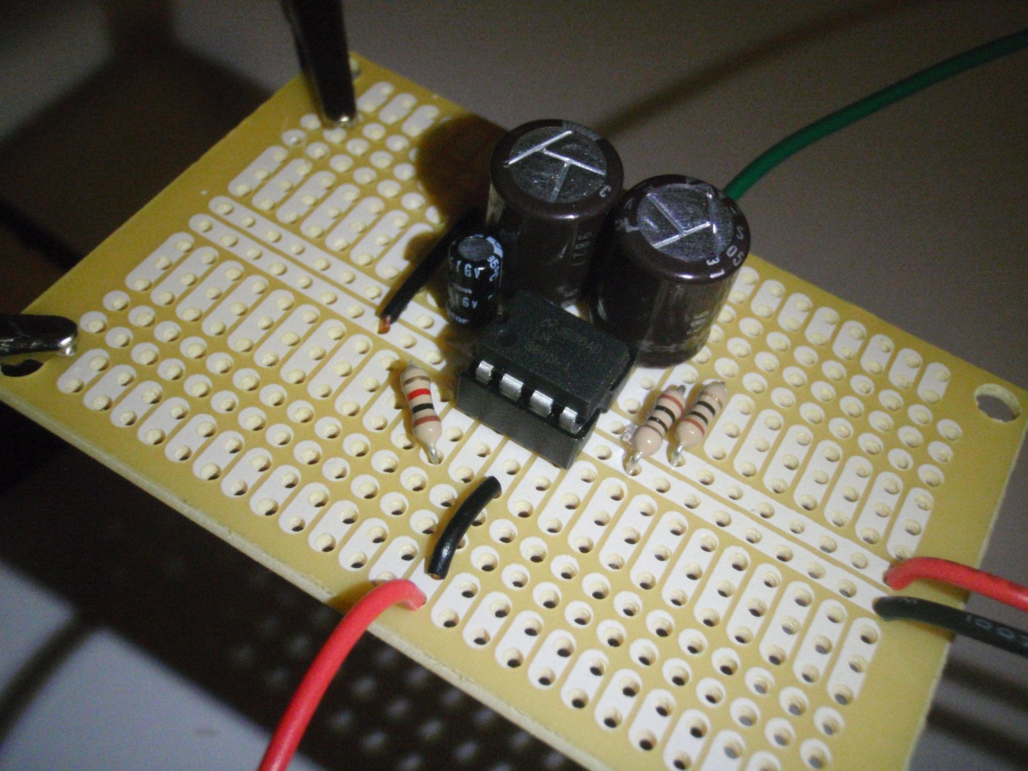 Lm386 Audio Amplifier 5 Steps 10 Watt Circuit Diagram