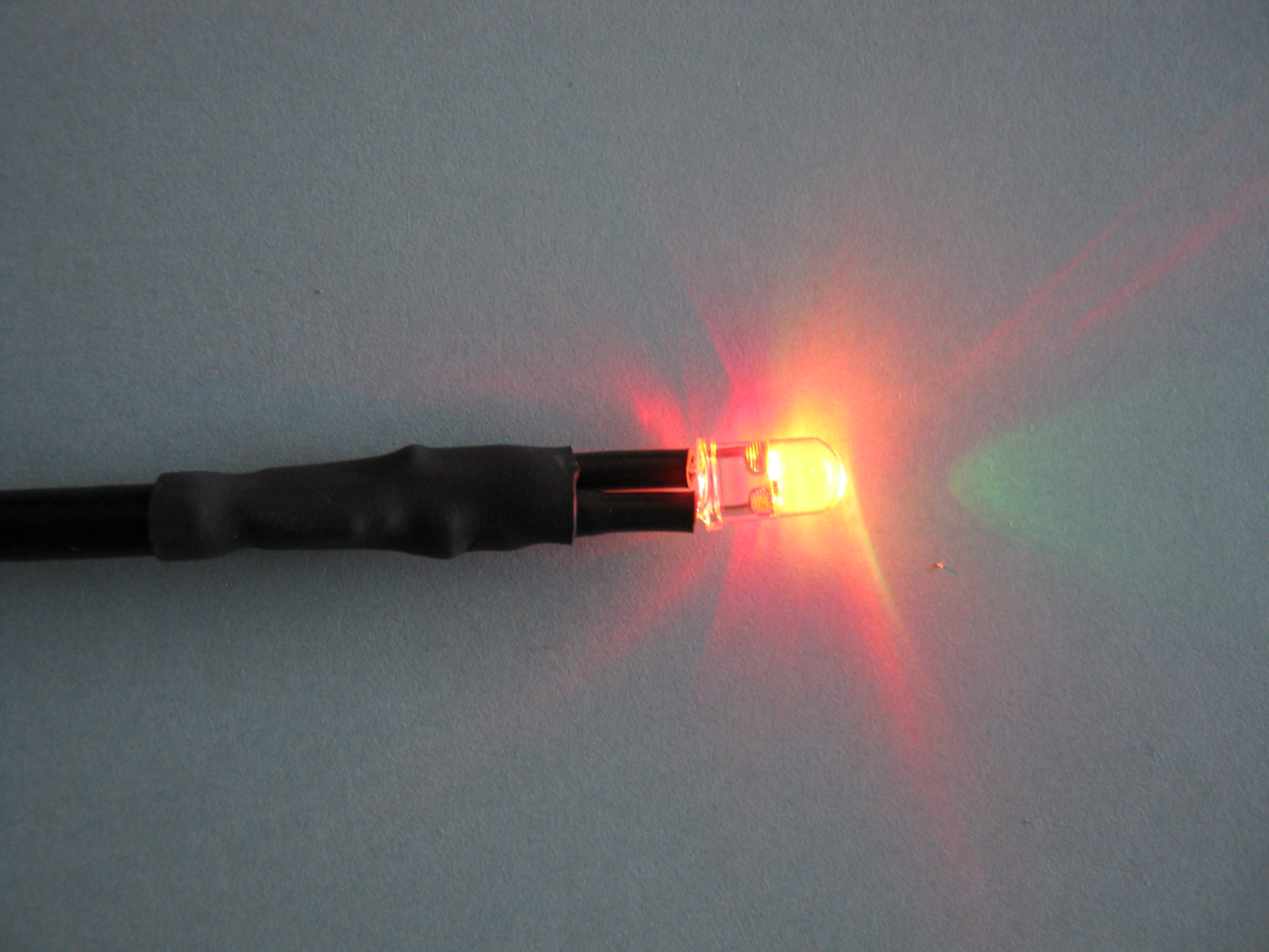 Picture of Test the LED Cable: Apply Power and Voila!