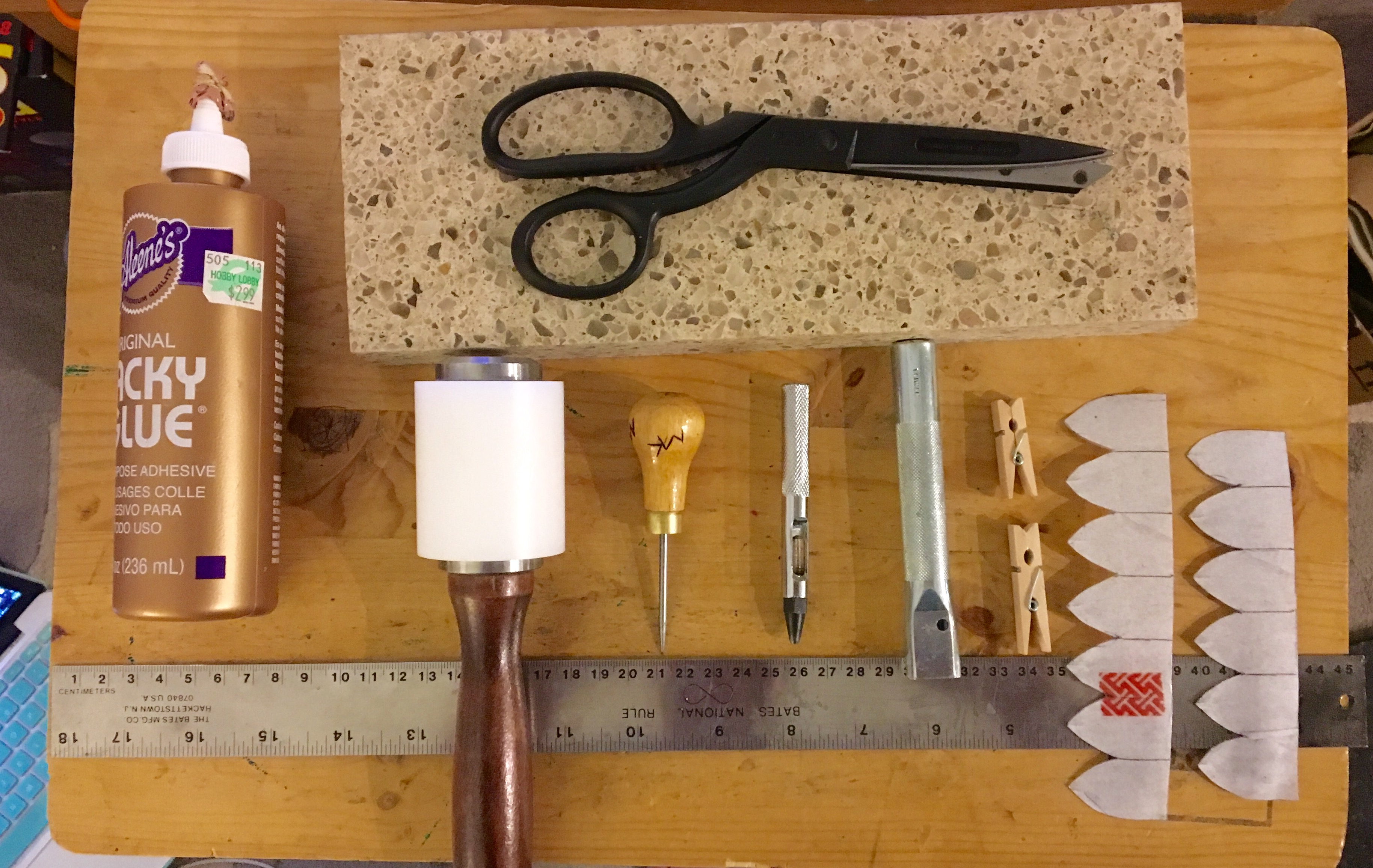Picture of Tools and Materials Needed