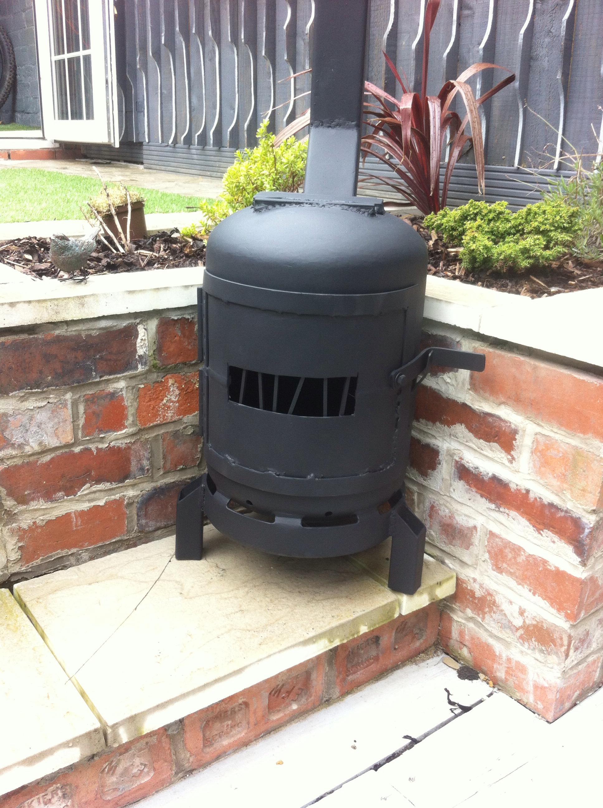 Picture of Gas Bottle Log Burner