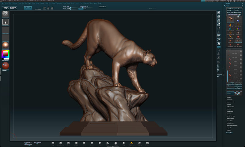 Picture of Creating Master in Zbrush