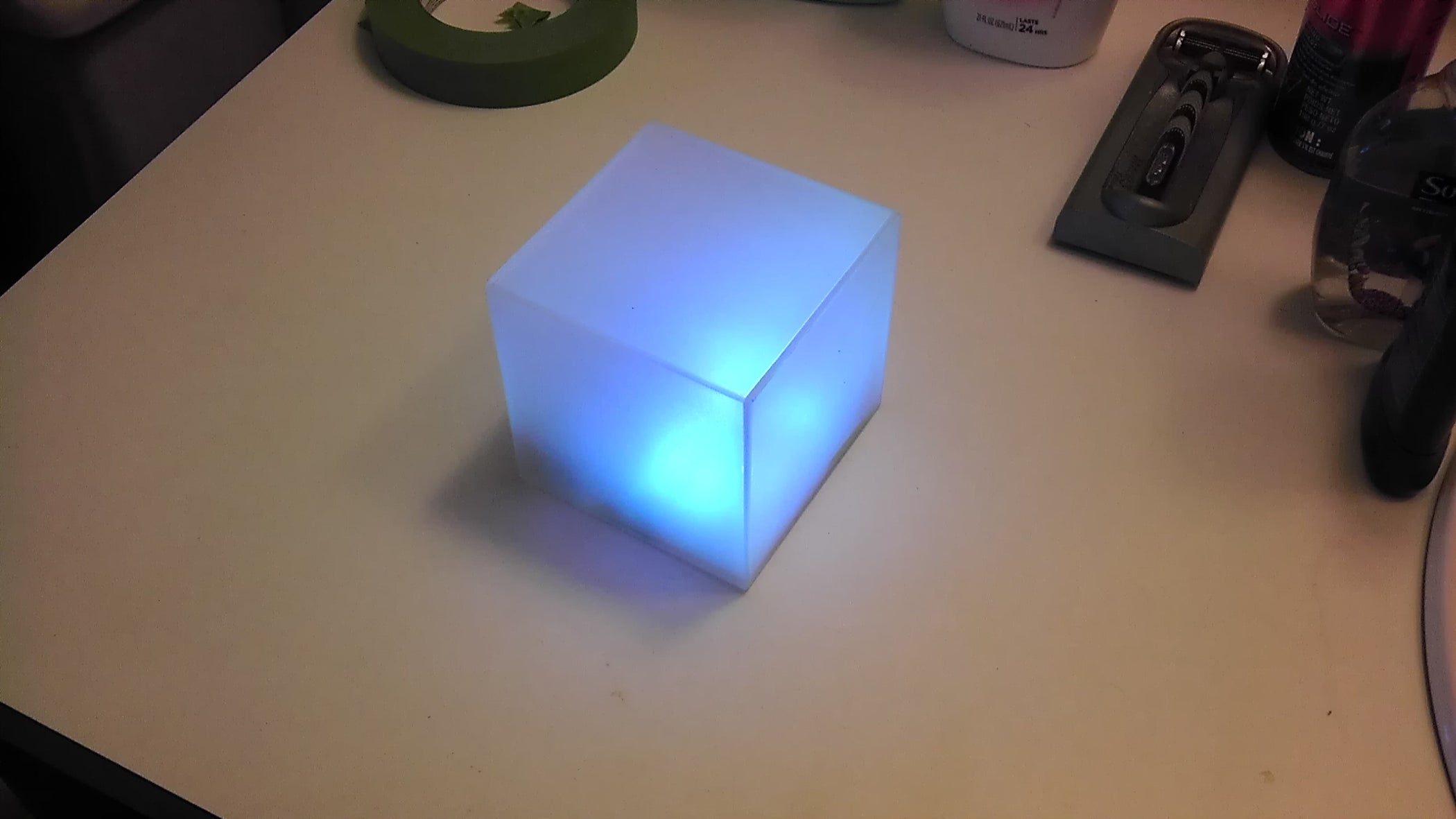 Color Changing Led Lamp 5 Steps From Radioshack Not A High Powered Simple 20ma Specetc