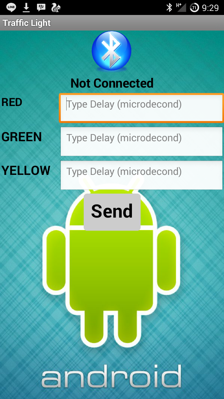 Picture of Application for Android Smartphone