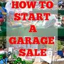 How to Start a Garage Sale