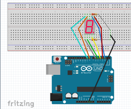 7 Segment Display On Arduino