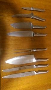 Furi 8 Piece Chef Set Knife Block