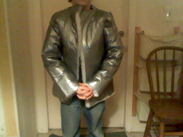 Picture of Insulated Duct Tape Winter Coat