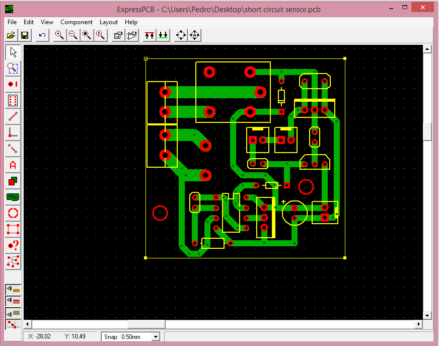 Picture of Designing the Board