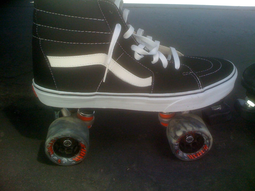 c76b94fa12bb3 Vans Roller Skates: 4 Steps (with Pictures)