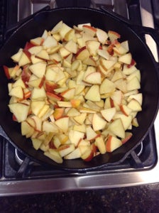 Adding the Sugar and Apples
